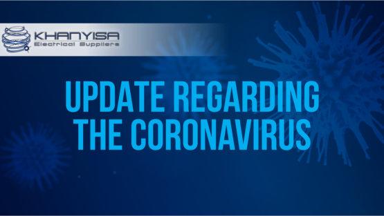 Update Regarding The Coronavirus
