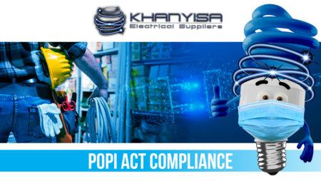 Khanyisa Electrical POPI Act Compliance